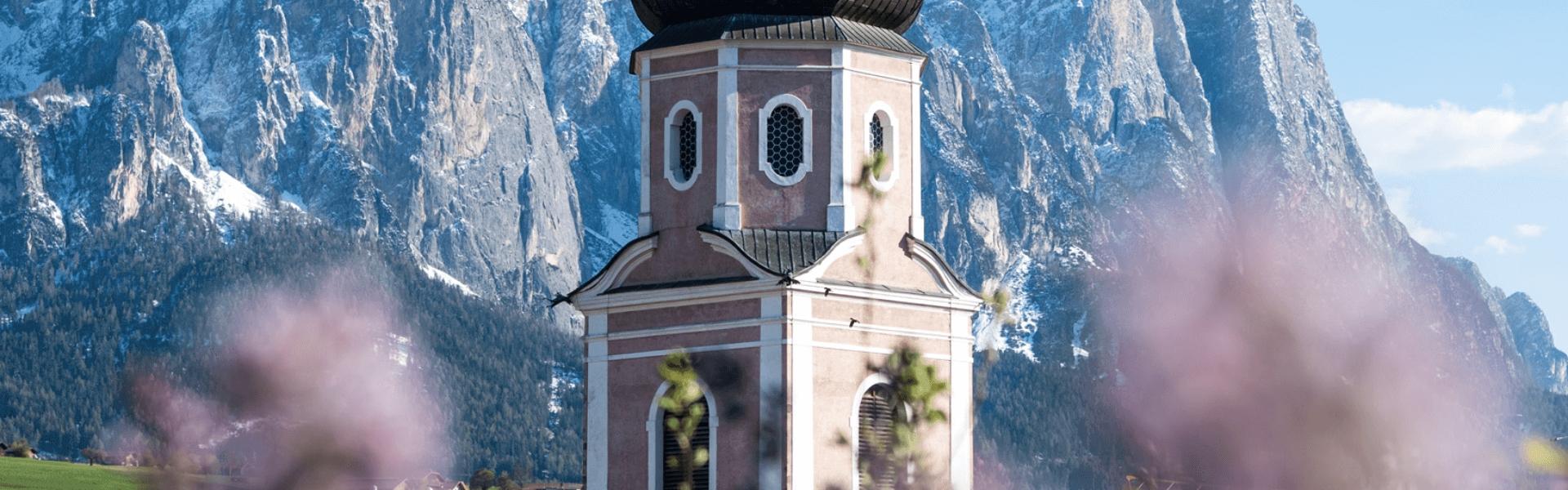 Kirchturm Kastelruth