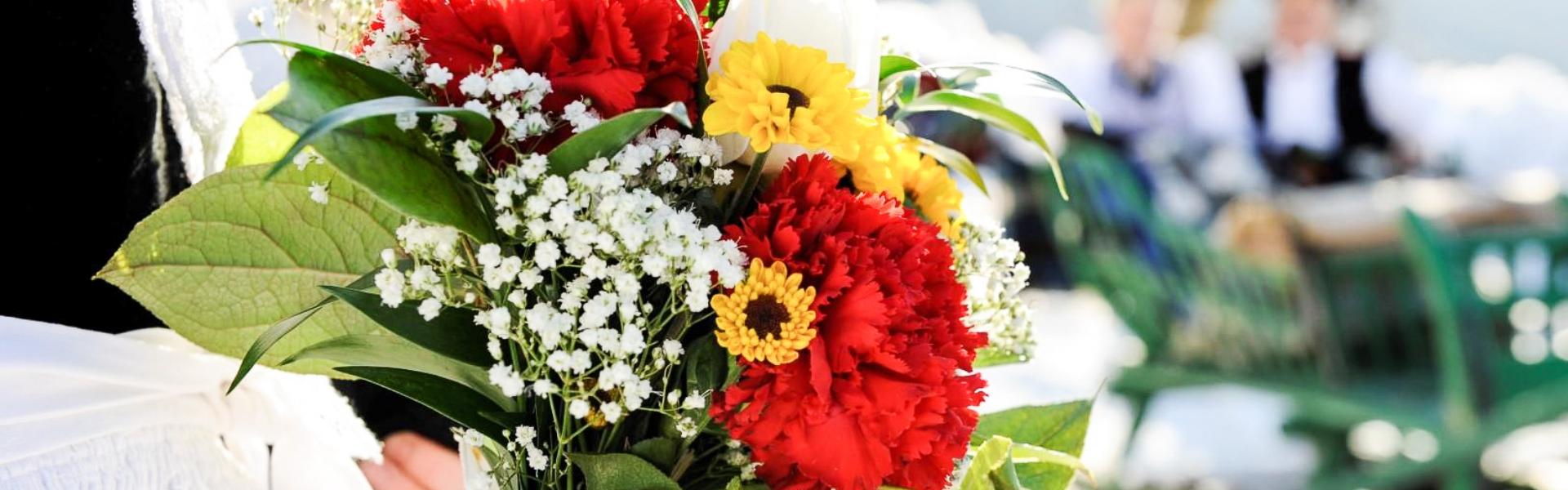 Blumenstrauß - Tradition in Kastelruth
